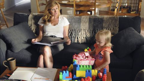 """Connie Britton as Tami Taylor, a guidance counselor turned principal, in """"Friday Night Lights."""""""