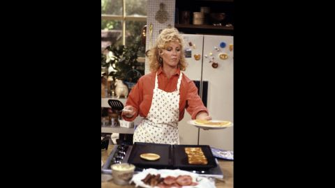 """Joanna Kerns as Maggie Seaver, a reporter, in """"Growing Pains."""""""