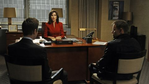"""Julianna Margulies as attorney Alicia Florrick in """"The Good Wife."""""""