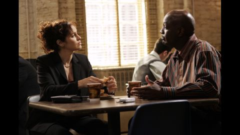 """Amy Brenneman as Judge Amy Madison Gray in """"Judging Amy."""""""