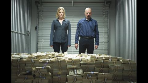 """Anna Gunn as Skyler White, who held many jobs, including writer and bookkeeper, in """"Breaking Bad."""""""
