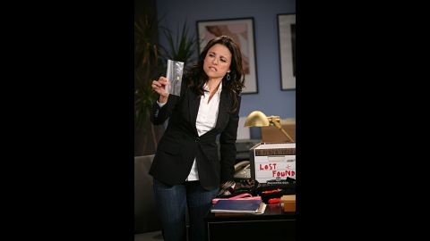 """Julia Louis-Dreyfus as Christine Campbell, who ran a women's gym, in """"The New Adventures of Old Christine."""""""