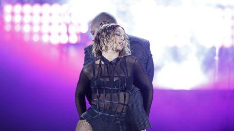 """<a href=""""http://www.youtube.com/watch?v=1b1loWJfxaA&list=TLBEoDqNTHyfLXILEJZG8oDooOnG_OE0-p"""" target=""""_blank"""" target=""""_blank"""">Beyoncé on Jay-Z</a>: """"The day that I got engaged was my husband's birthday and I took him to Crazy Horse. And I remember thinking, 'Damn, these girls are fly' -- I just thought it was the ultimate sexy show I've ever seen. And I was like, 'I wish I was up there, I wish I could perform that for my man.' So that's what I did."""""""