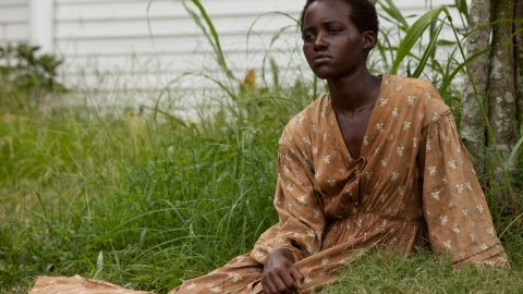 """""""12 Years A Slave"""" was Nyong'o's first feature film."""