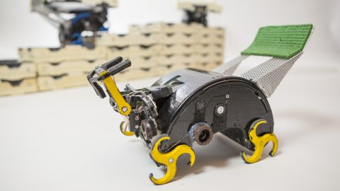 Scientists designed these robots to react their immediate environment.