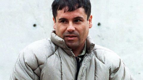 """Sinaloa cartel boss Joaquin """"El Chapo"""" Guzman, pictured here in 1993, has been deemed by Forbes as the most powerful criminal on the planet."""