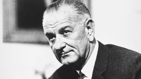 President Lyndon Johnson was both a champion of civil rights and someone who displayed shocking racism.