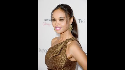"""Actress Sharon Leal is the daughter of a Filipino mother and African-American father. """"I think when you look at me it's glaringly obvious that I'm black and for some reason Asian doesn't exactly scream out at you,"""" she <a href=""""http://www.bet.com/news/celebrities/2012/04/13/q-a-sharon-leal-talks-new-movie-and-being-biracial-in-hollywood.html"""" target=""""_blank"""" target=""""_blank"""">told BET.com</a>. """"And I definitely identify with my African-American side more. That's how people perceive me and I'm fine with that."""""""