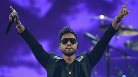 """""""I'm Mexican and black -- my father is Mexican, my mom is black. I've been in the middle my entire life, having to make decisions as to who and what I am,"""" singer Miguel <a href=""""http://www.billboard.com/articles/news/474985/miguels-kaleidoscope-dream-inside-the-rb-dynamos-fresh-start"""" target=""""_blank"""" target=""""_blank"""">told Billboard magazine</a>. """"It was really important for me to stand out. I wanted the music to stand out that way."""""""