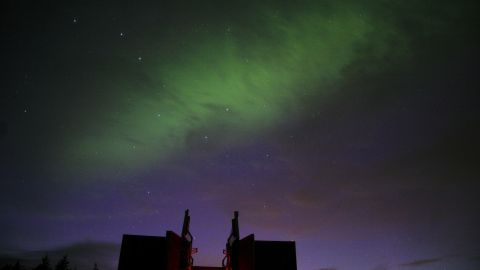 """<strong>Northumberland Dark Sky Park (UK):</strong> Depending on <a href=""""http://www.nasa.gov/topics/shuttle_station/features/20110917-aurora.html#.UwL132TIwzI"""" target=""""_blank"""" target=""""_blank"""">disturbances in the Earth's magnetic field</a>, the Aurora Borealis can be visible from Kielder Observatory, on the northernmost edge of England, close to the Scottish border."""