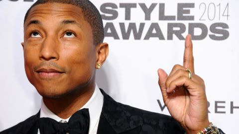 He's been hailed for his impeccable style. He showed some of that off at the 2014 Elle Style Awards.