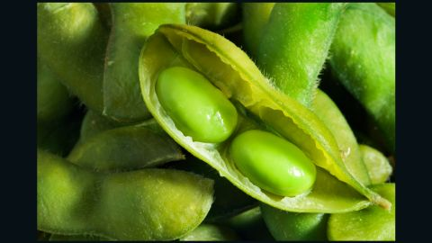 One cup of edamame offers 676 milligrams of potassium, which can help lower blood pressure.
