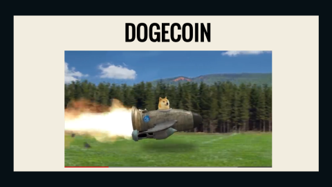 """Billy Markus, the creator of Dogecoin, says the cryptocurrency is meant to be fun and accessible. That could explain the<a href=""""http://dogecoin.com/"""" target=""""_blank"""" target=""""_blank""""> silliness of its website</a>, which features a Shiba Inu zipping around in a rocket ship. """"I hope Dogecoin continues to grow as the Internet's tipping currency and brings people joy,"""" he said."""