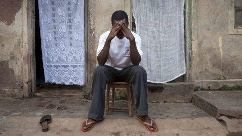 "Portrait of a ""closeted homosexual"" in Uganda."