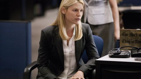 """Claire Danes stars as Carrie Mathison in """"Homeland."""""""