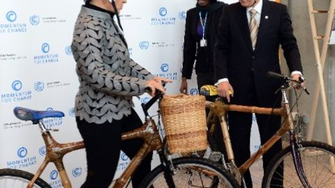 Ban Ki Moon and Christiana Figueres of the UNFCCC at COP19 in Warsaw last year.