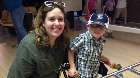 Ryan Wright was recently diagnosed with leukodystrophy.