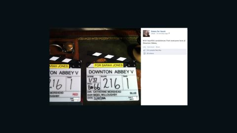 """Workers from the set of """"Downton Abbey"""" shared their condolences."""