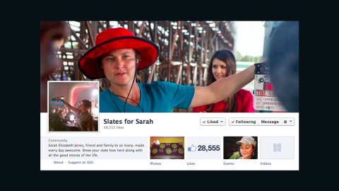 """Sarah Elizabeth Jones died doing the job she loved. The South Carolina native was working as a second camera assistant when she was <a href=""""http://www.legacy.com/obituaries/charleston/obituary.aspx?n=sarah-elizabeth-jones&pid=169841050"""" target=""""_blank"""" target=""""_blank"""">killed</a> on set February 20, 2014. Her friends and the film community rallied to remember Jones in a movement called <a href=""""https://www.facebook.com/slatesforsarah"""" target=""""_blank"""" target=""""_blank"""">Slates for Sarah</a>."""