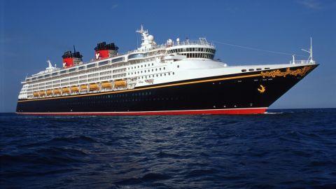 "The ""Disney Wonder"" cruise ship picked up 12 suspected migrants, the U.S. Coast Guard said."