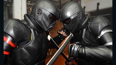 Australian company Unified Weapons Master has developed The Lorica, a high-tech suit of armor they hope will be used in weapons-based martial arts competitions.