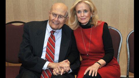 U.S. Rep. Debbie Dingell succeeded her husband, former U.S. Rep. John Dingell, D-Michigan, in the seat he held for 58 years until his retirement in 2015.