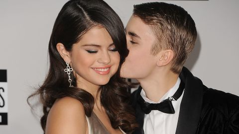"""<a href=""""http://marquee.blogs.cnn.com/2011/09/26/bieber-takes-over-staples-center-for-date-night/?iref=allsearch"""">Justin Bieber swept the slightly older Selena Gomez off her feet</a>, and the two were <a href=""""http://www.eonline.com/news/518860/omg-justin-bieber-reunites-with-selena-gomez-after-he-storms-out-of-deposition-get-the-scoop"""" target=""""_blank"""" target=""""_blank"""">on and off </a>for a while. Although their relationship appeared to end for good in 2013, they spent an awful lot of quality time together in 2014 and then reconnected in 2016 before finally going their separate ways. Bieber <a href=""""http://www.cnn.com/2018/11/23/entertainment/justin-bieber-married/index.html"""" target=""""_blank"""">married model Hailey Baldwin in 2018,</a> but that hasn't stopped people from thinking about """"Jelena."""""""