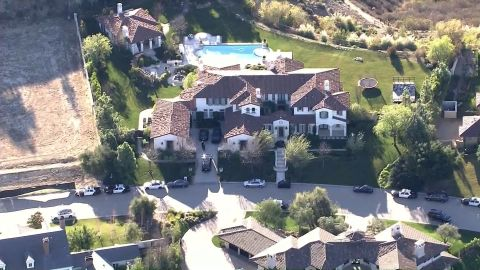 """<strong>16. Created a personal """"frat house"""": </strong>According to a detective with the Los Angeles County Sheriff's Department, Bieber crafted a """"frat house"""" among the multimillion-dollar mansions in Calabasas, California. There were ping-pong and pool tables, a Ms. Pac-Man video game and a basketball free-throw machine, plus a skateboard ramp covered with spray-painted graffiti in the back. He's since sold the home to Khloe Kardashian."""