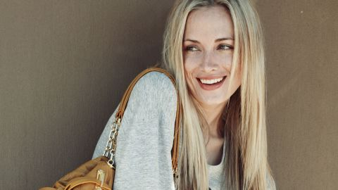 """A week before her death, South African model Reeva Steenkamp talked about her secure, blissful environment. """"I woke up in a happy, safe home this morning,"""" she tweeted. """"Not everyone did."""""""