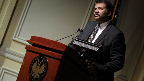 Neil deGrasse Tyson makes a few remarks at a Celebration Of Carl Sagan at The Library of Congress on November 12, 2013 in Washington, DC.