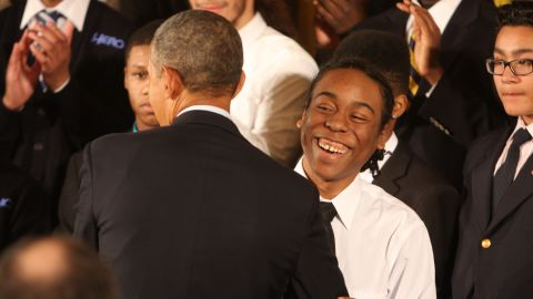 President Obama kicked off his My Brother's Keeper initiative in February at the White House to support young men of color.