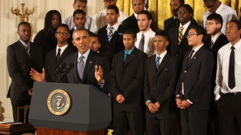 President Barack Obama held the My Brothers Keeper event at the White House kicking off efforts to support young men of color Thursday.