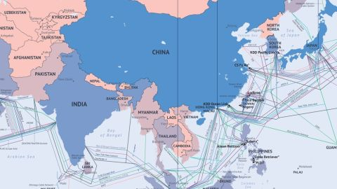 """<strong>How comprehensive is your map? What's missing?</strong><br /><strong>AM: </strong>Our map is updated all the time. We have all the cables in service, and receive feedback all the time from people saying """"hey, you're missing a cable here."""" We hope it's as reliable as possible. I wouldn't say it's perfect, it might lack some smaller domestic cables, but for international systems -- the big ones -- it's comprehensive. <br />We also include cables that are planned -- sometimes these will be built and sometimes that won't happen. We keep up with deactivation -- sometimes cables are turned off, [if they are] too expensive to maintain or not running to capacity.<br /><a href=""""http://submarine-cable-map-2014.telegeography.com/"""" target=""""_blank"""" target=""""_blank""""><strong><em>See Telegeography's interactive map here</em></strong></a><br />"""