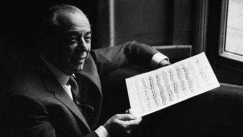 """Richard Rodgers, the music-writing half of the famed Rodgers and Hammerstein composing team, earned an Oscar for his song """"It Might as Well Be Spring"""" from """"State Fair."""" He received an Emmy for a 1962 TV special, Grammys for two cast albums and six Tonys -- including honors for his works """"South Pacific,"""" """"The King and I"""" and """"The Sound of Music."""""""