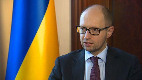 ukraine prime minister Arseniy Yatsenyuk chance intv_00005602.jpg