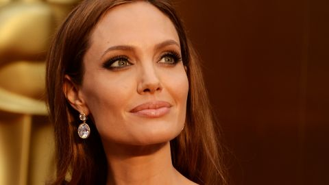HOLLYWOOD, CA - MARCH 02:  Angelina Jolie attends the Oscars held at Hollywood & Highland Center on March 2, 2014 in Hollywood, California.  (Photo by Jason Merritt/Getty Images)