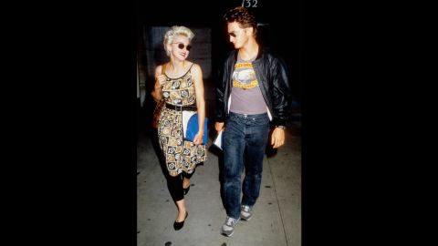 """Madonna's four-year marriage to Sean Penn was one of the wildest rides of the '80s, and that's saying something, but we agree with her words after their divorce in 1989: """"I do believe we all have soul mates,"""" she told People magazine. """"I don't believe that we necessarily end up with them."""" After their split, both Madonna and Penn moved on to new relationships (several times)."""
