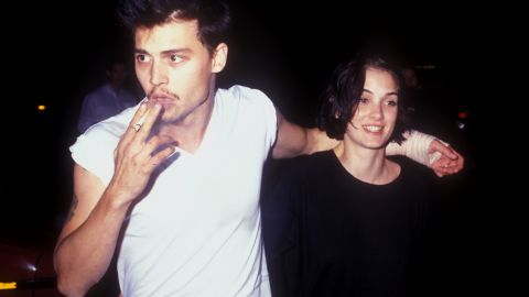 """Johnny Depp and Winona Ryder had amazing chemistry on- and off-screen, from """"Edward Scissorhands"""" to the tattoo parlor, where Depp had """"Winona Forever"""" inked on his arm. Alas, although we adored their courtship, Depp and Ryder weren't meant to be."""