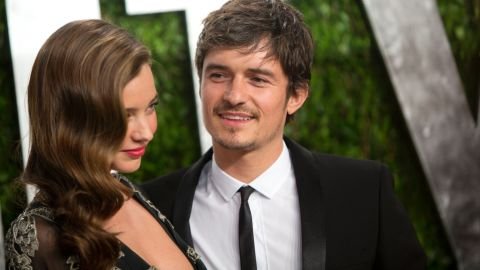 """With Miranda Kerr and Orlando Bloom being the type to write love letters to one another -- and <a href=""""http://marquee.blogs.cnn.com/2011/11/04/miranda-kerr-orlando-framed-our-love-letters/?iref=allsearch"""" target=""""_blank"""">Bloom being the kind of romantic who would frame them</a> -- we definitely did not see <a href=""""http://www.cnn.com/2013/10/25/showbiz/celebrity-news-gossip/orlando-bloom-miranda-kerr-separate/index.html?iref=allsearch"""" target=""""_blank"""">their 2013 breakup coming</a>. Yet according to Bloom, he and Kerr -- whom he married in 2010 after a three-year courtship -- <a href=""""http://marquee.blogs.cnn.com/2013/11/01/orlando-bloom-opens-up-about-breakup/?iref=allsearch"""" target=""""_blank"""">still love each other</a>, even if it's only as parents to their young son, Flynn. Kerr married Snapchat chief executive officer Evan Spiegel in 2017 and Bloom <a href=""""https://www.cnn.com/2019/02/15/entertainment/katy-perry-orlando-bloom-engaged/index.html"""" target=""""_blank"""">got engaged to singer Katy Perry on Valentine's Day 2019. </a>"""