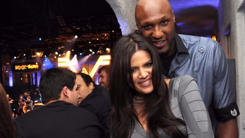 """Khloe Kardashian's whirlwind romance with basketball player Lamar Odom made us skeptical at first, but once we saw them in action we believed love really can be found in a month. Kardashian eventually filed for divorce after nearly five years of marriage. """"It's definitely not anything I'm through,"""" <a href=""""http://www.2dayfm.com.au/shows/2dayfm-breakfast/"""" target=""""_blank"""" target=""""_blank"""">she said of her breakup in March 2014</a>. """"I'm going through it, but I'm not (over) it."""" And while she put the divorce proceedings on hold in 2015 to support him through <a href=""""http://www.cnn.com/2015/10/16/entertainment/lamar-odom-profile-feat/"""">his health crisis, </a>she refiled in July 2016. Kardashian now has a daughter with NBA player Tristan Thomas."""
