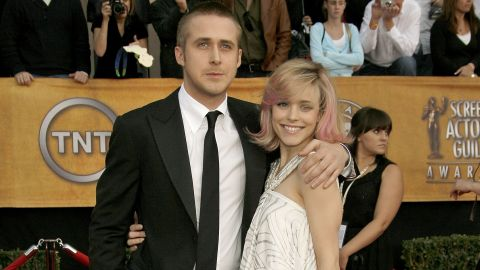 """The reason we're wistful for the days when Ryan Gosling was dating Rachel McAdams is simple: If the two people who starred in """"The Notebook"""" can't make it work, who can? So far Gosling has been making it work with actress Eva Mendes and the pair have two daughters. McAdams has been in a relationship with screenwriter Jamie Linden since 2016."""
