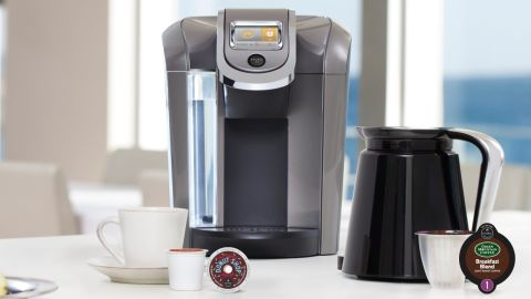 Behold! The new Keurig 2.0 machine.