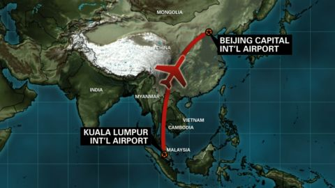 NGTV Malaysia Airlines Flight Route