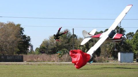 """The pilot, Sharon Trembley, 87, was doing """"touch and goes"""" with the Cessna, a maneuver in which the plane touches the ground and ascends again."""