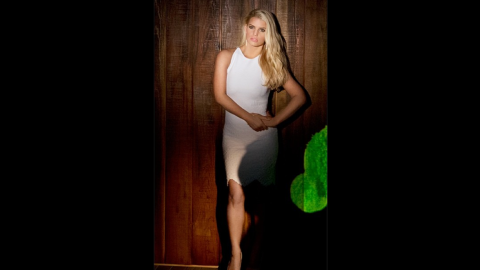 """Jessica Simpson announced on Instagram in March that she has reached her goal weight after giving birth to son Ace in June 2013. """"First time rocking a white dress this year ... but not the last!!Thanks @weightwatchers!"""" the paid spokeswoman <a href=""""https://twitter.com/JessicaSimpson/status/441742983767937025"""" target=""""_blank"""" target=""""_blank"""">tweeted</a>. Like many women, Simpson has found her weight fluctuating over the years; unlike most women, she's had to deal with public criticism about her curves."""
