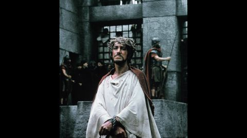 """One of the most iconic portrayals of Jesus came from Max von Sydow in 1965's """"The Greatest Story Ever Told."""" With a script adapted from a '40s radio series and Fulton Oursler's account by the same name, """"The Greatest Story Ever Told"""" put the """"big"""" in """"big screen production,"""" costing $20 million and boasting actors like Sidney Poitier, Charlton Heston and John Wayne."""