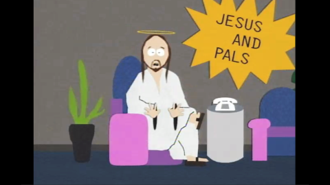 """""""South Park"""" creators Trey Parker and Matt Stone aren't afraid to blend religious icons with their edgy humor. The creators of the hit Broadway musical """"The Book of Mormon"""" have included a Jesus character on their animated Comedy Central show for years. Their version has his own cable access show, """"Jesus and Pals,"""" and often teams up to fight evil with his """"Super Best Friends,"""" a group that includes other religious figures like Krishna and Moses."""