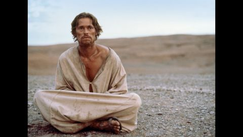 """In 1988, Willem Dafoe portrayed Jesus in what's become one of the most controversial movies about the famous Nazarene, Martin Scorsese's """"The Last Temptation of Christ."""" In a story based on the 1953 novel of the same name, Dafoe's Jesus is one who battles lust, doubt and a reluctance to fulfill his fate."""