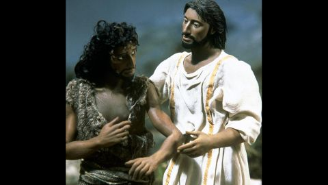 """In 2000, a very different look at the life of Jesus arrived in the form of a stop-motion film called """"The Miracle Maker."""" Ralph Fiennes was the voice of Jesus, and everything about the story of Jesus' adult life, from the beginning of his ministry to his resurrection, was told through this unique animation."""