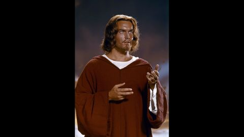 """Not to be confused with 1927's """"The King of Kings,"""" MGM's 1961 New Testament saga """"King of Kings"""" told the story of Jesus from birth to death in grand, technicolor fashion. Jeffrey Hunter portrayed Jesus in this classic, which has become a go-to movie about the Gospels."""